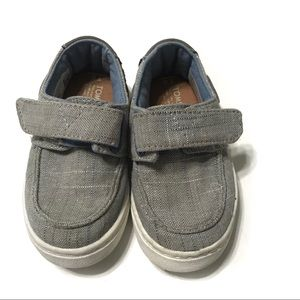 Toms Baby Toddler Gray Sneakers Size T6